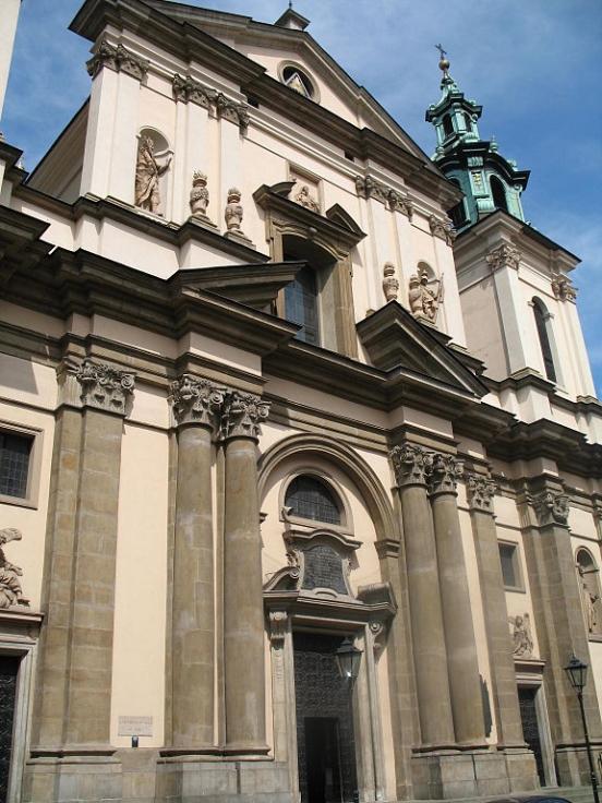Kościół świetej Anny w Krakowie | Zwiedzanie Krakowa | Atrakcje Krakowa | Przewodnik po Krakowie