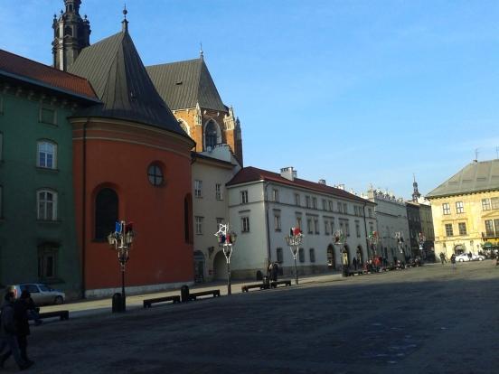 mały rynek Kraków | the small market square in Kraków
