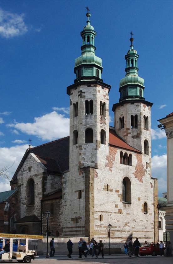 Kościół świętego Andrzeja w Krakowie   St. Andrew's Church in Kraków